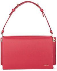 Lanvin - Pixel-it Leather Crossbody Bag - Lyst