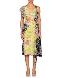 Prabal Gurung - Rana Floral Silk Dress - Lyst