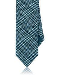 Brioni - Glen Plaid Silk Faille Necktie - Lyst
