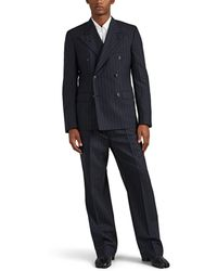 Maison Margiela - Pinstriped Wool Double-breasted Suit - Lyst