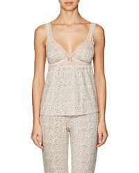 Eberjey - Floral Jersey Camisole - Lyst