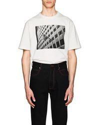 CALVIN KLEIN 205W39NYC - american Flag Cotton T-shirt - Lyst