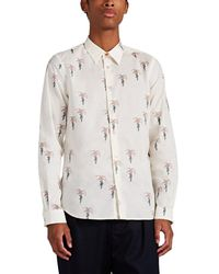 PS by Paul Smith Hands-&-tree Cotton Shirt - Natural