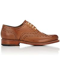 Grenson - Rose Leather Wingtip Balmorals - Lyst
