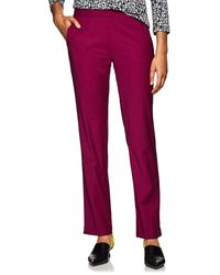 Derek Lam Worsted Wool-blend Slim Pants - Multicolour