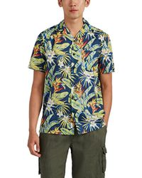 Onia - Vacation Floral Cotton Camp Shirt - Lyst