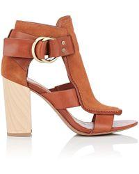 10 Crosby Derek Lam - Marya Leather & Suede Sandals - Lyst