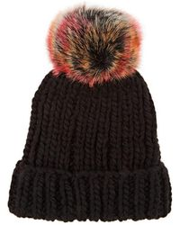Barneys New York - Wool-blend Beanie - Lyst