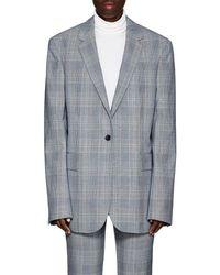 CALVIN KLEIN 205W39NYC Plaid Wool One - Gray