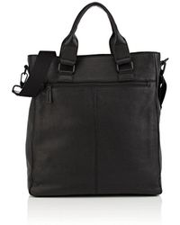Barneys New York - Leather Tote Bag - Lyst