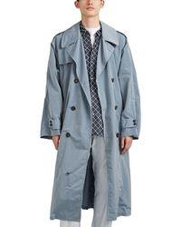 Maison Margiela - Shirt-lined Tech-taffeta Trench Coat - Lyst