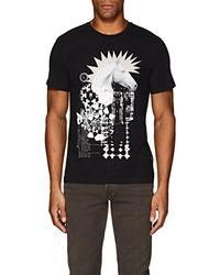 Just Cavalli - punk Horse Cotton T-shirt - Lyst