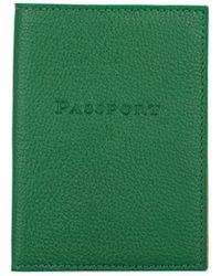 Barneys New York Passport Case - Green