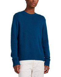 Acne Studios Peele Brushed Wool-cashmere Jumper - Blue