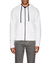 James Perse - Cotton French Terry Hoodie - Lyst