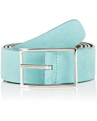 Simonnot Godard - Reversible Leather Belt - Lyst