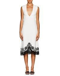 Derek Lam Sleeveless Lace-up Dress - White