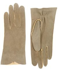 Barneys New York | Deerskin Gloves | Lyst