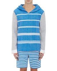 lemlem - Striped Gauze Hoodie - Lyst