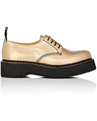 R13 - Glamrock Leather Oxfords - Lyst