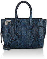 Zadig & Voltaire - Candide Embossed Leather Shoulder Bag - Lyst