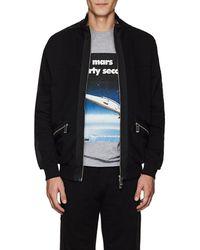 Blood Brother Cutty Cotton Zip-front Sweatshirt - Black
