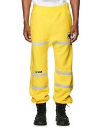 Undercover Astro Fleece Sweatpants - Yellow