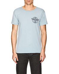 RRL - Logo-print Cotton T-shirt - Lyst