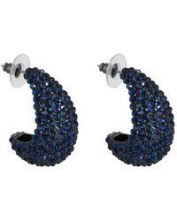 Kenneth Jay Lane - Crystal-embellished Earrings - Lyst