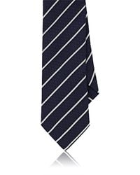 Barneys New York | Striped Silk Jacquard Necktie | Lyst