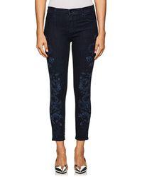J Brand - Alana High-rise Skinny Crop Jeans - Lyst