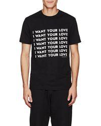 Blood Brother - Brainwash Cotton T-shirt - Lyst