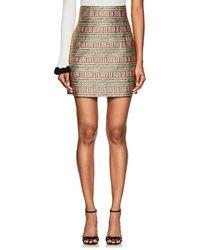 Cynthia Rowley - Geometric & Rope Brocade Miniskirt - Lyst