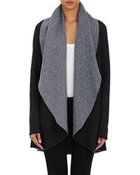 Barneys New York - Rapu Fleece Cardi Sweater - Lyst