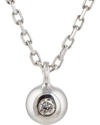 Hirotaka - Sphere Pendant On Adjustable Chain - Lyst