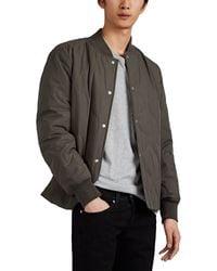 Rag & Bone - Focus Quilted Cotton Bomber Jacket - Lyst
