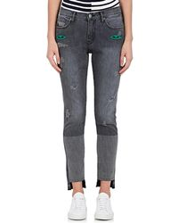 Sandrine Rose - Paiute Embroidered Straight Jeans - Lyst