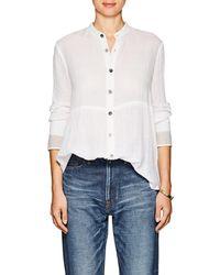 Pas De Calais - Cotton Tunic Shirt - Lyst