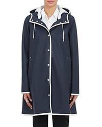 Stutterheim Mosebacke Raincoat - Blue