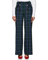 Opening Ceremony - Embellished Plaid Trousers - Lyst