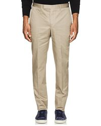 Officine Generale - Paul Cotton Twill Trousers - Lyst