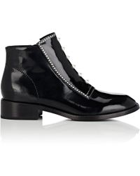 Opening Ceremony - Ryder Spazzolato Leather Ankle Boots - Lyst