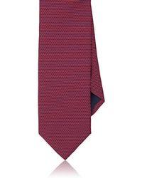 Barneys New York - Geometric-dot Silk Satin Necktie - Lyst