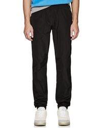 Tomas Maier Tech-poplin Jogger Trousers - Black