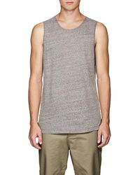 Chapter - Heathered Cotton-blend Tank - Lyst