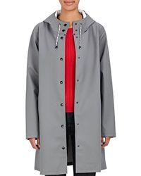 Stutterheim Mosebacke Raincoat - Gray