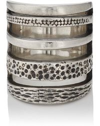 Pamela Love - Sterling Silver Cage Ring - Lyst
