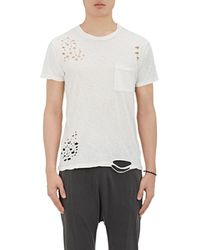 NSF - Distressed Cotton T - Lyst
