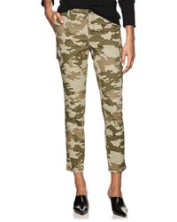 ATM Camouflage Cotton Slim Cargo Trousers