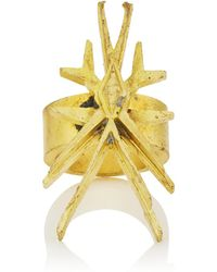 Eddie Borgo Wasp Ring - Metallic